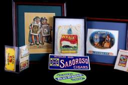 Early Rare Tobacco and Cigar Advertising