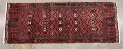 Persian Hamaden Fine Hand Woven Wool Rug