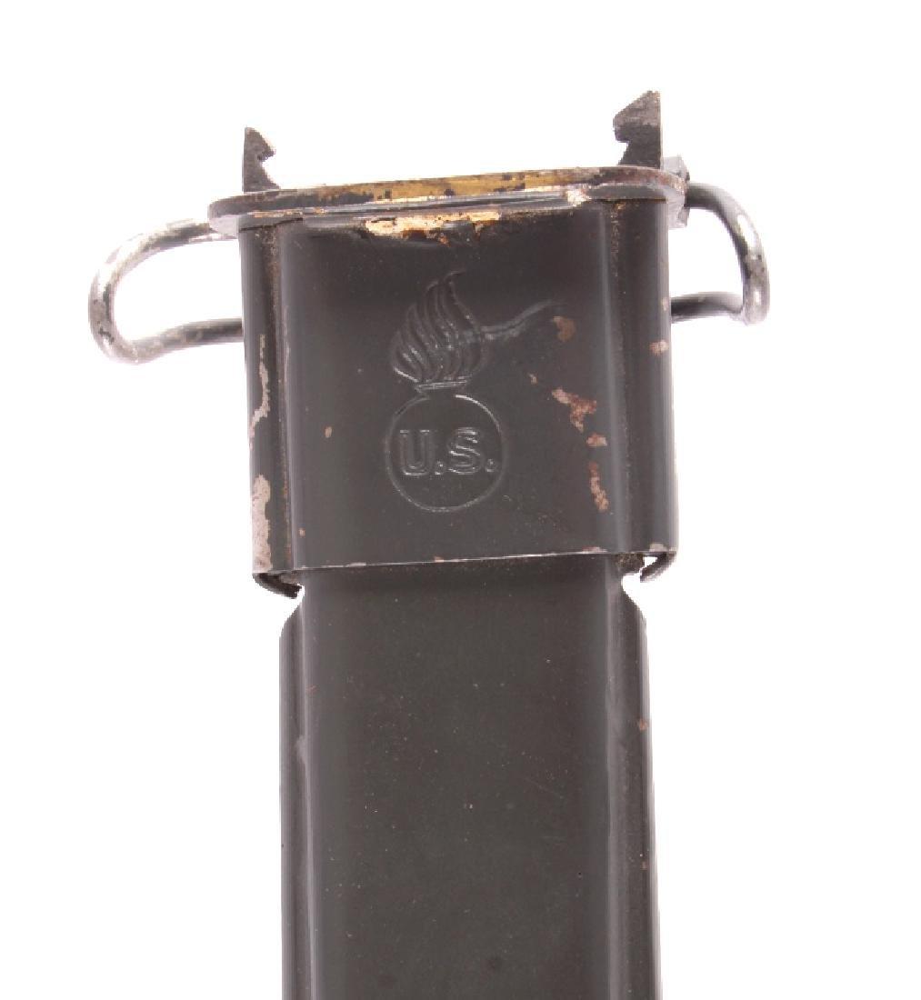 U.S. Marine Corps M1905 1942 M1 Garand Bayonet - 10