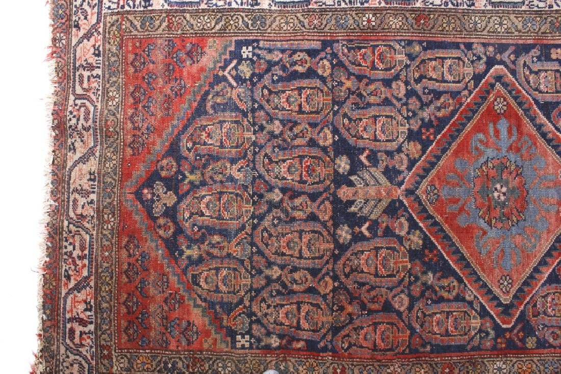 Antique Persian Fine Woven Rug - 5