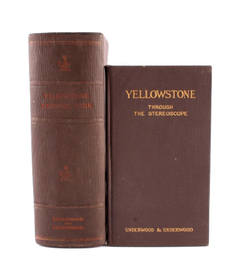 Complete Set of 1909 Yellowstone Park Stereoviews