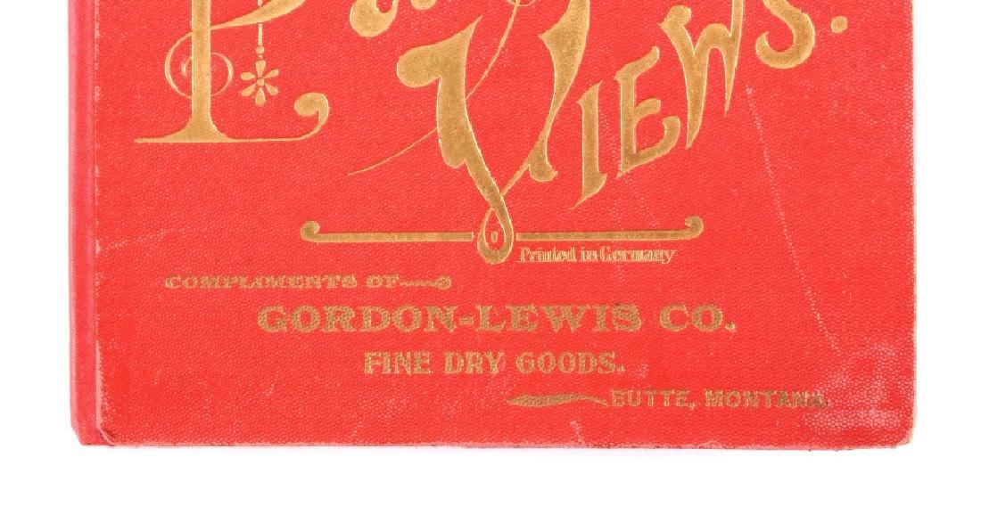 c.1890 Yellowstone Park Views Souvenir Album - 3