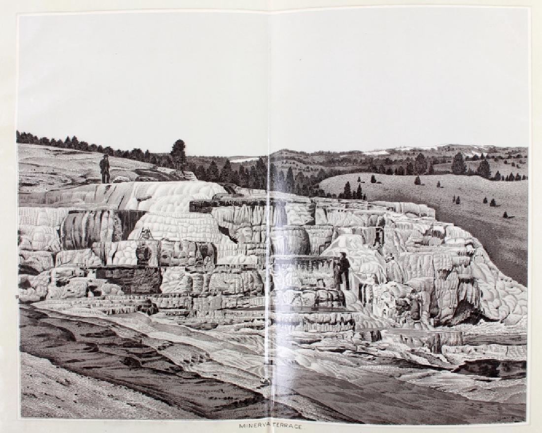 c.1890 Yellowstone Park Views Souvenir Album - 4