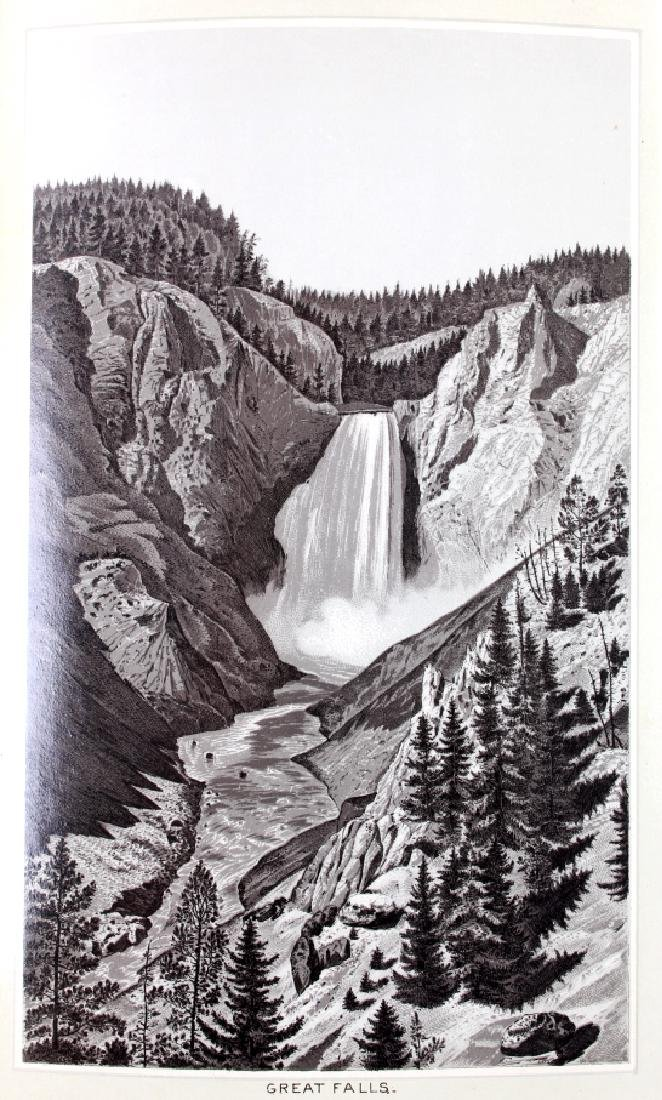 c.1890 Yellowstone Park Views Souvenir Album - 6