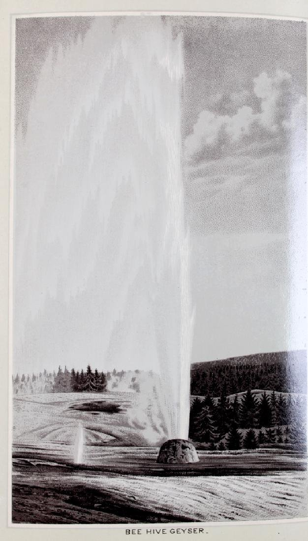 c.1890 Yellowstone Park Views Souvenir Album - 7