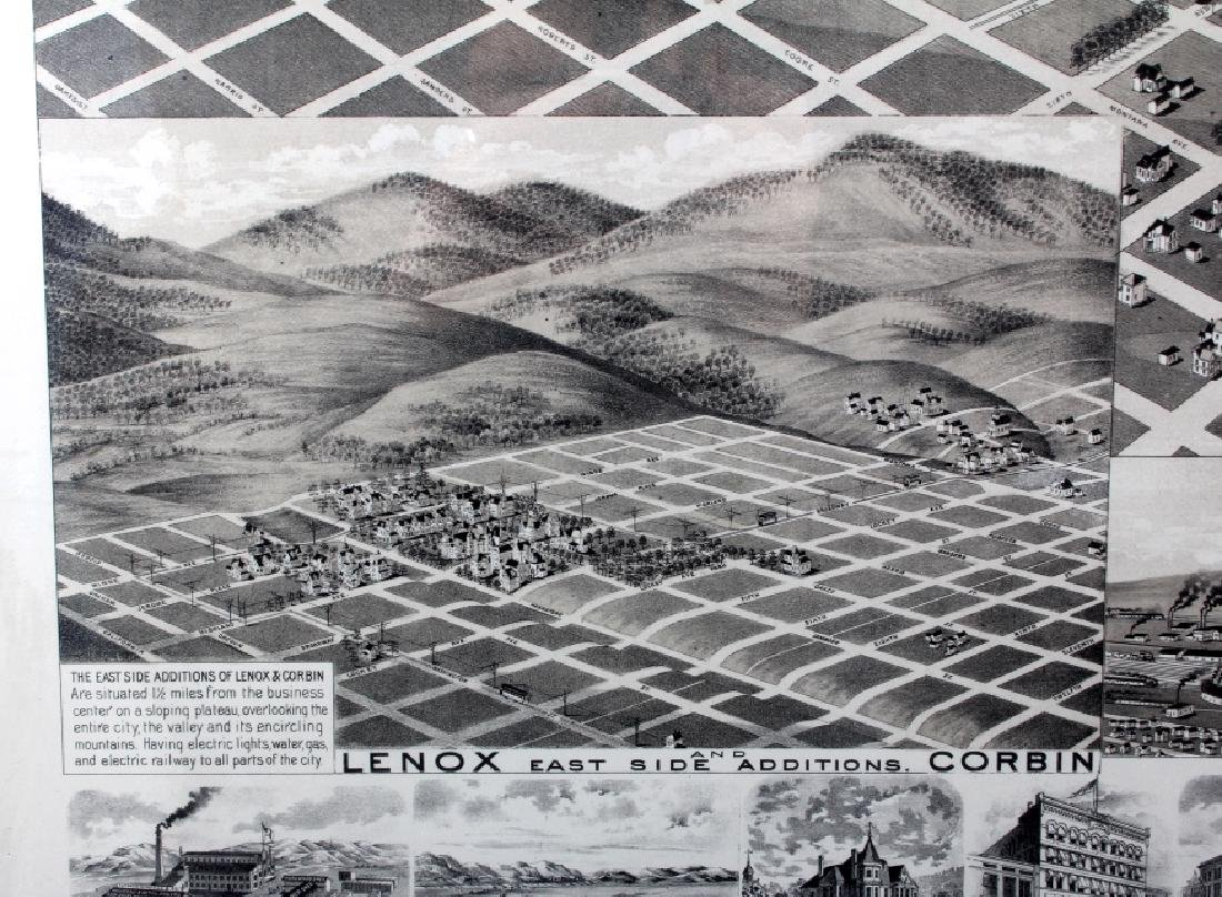 1890 Kessler Brewery Map of Helena Montana - 7
