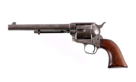 California Joe Moses Milner Colt SAA Revolver