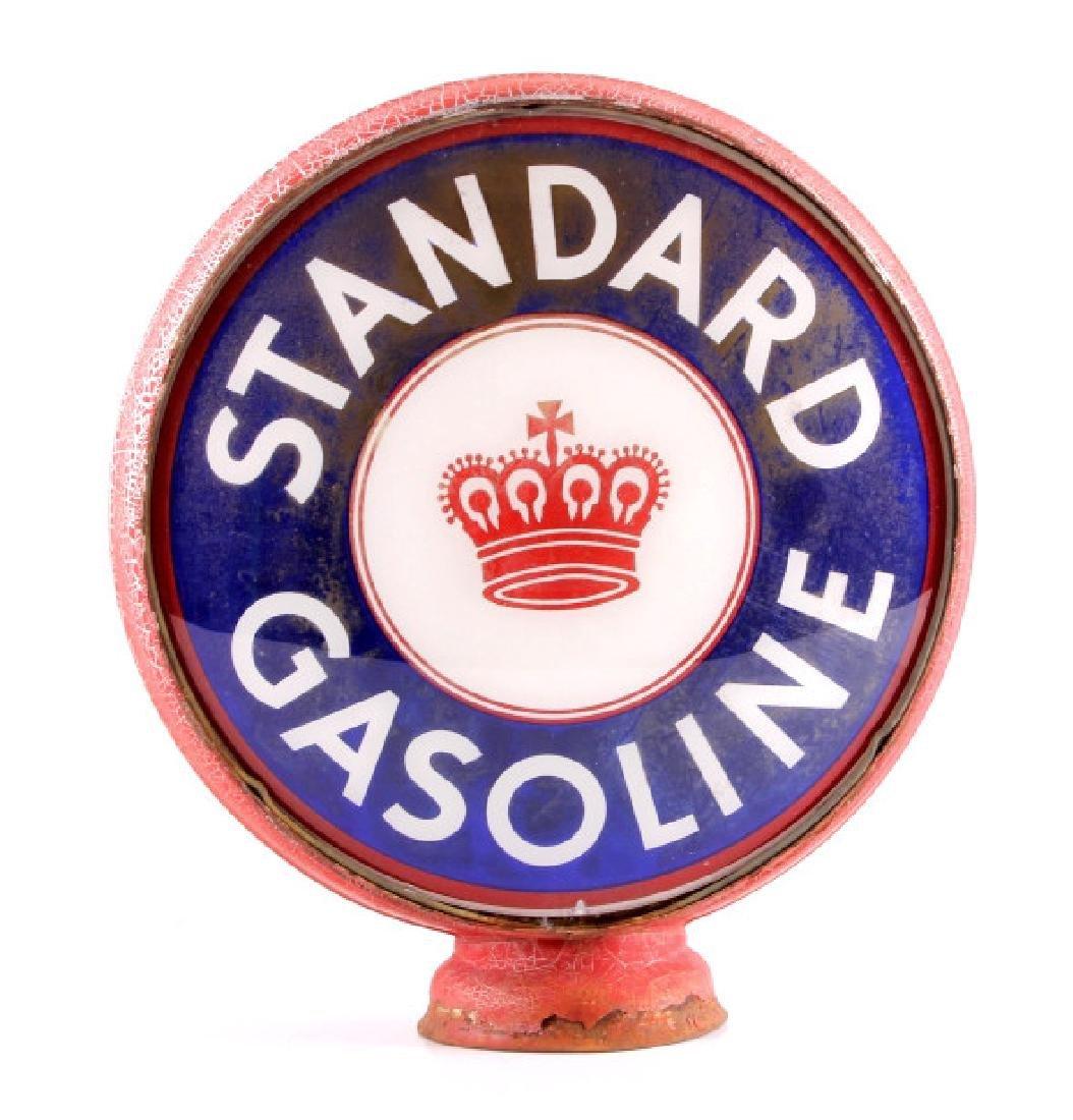Standard Gasoline Pump Globe with Single Lens