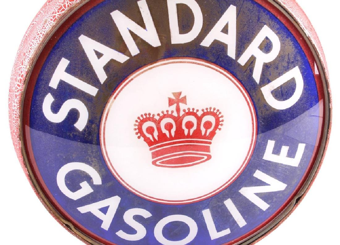 Standard Gasoline Pump Globe with Single Lens - 4