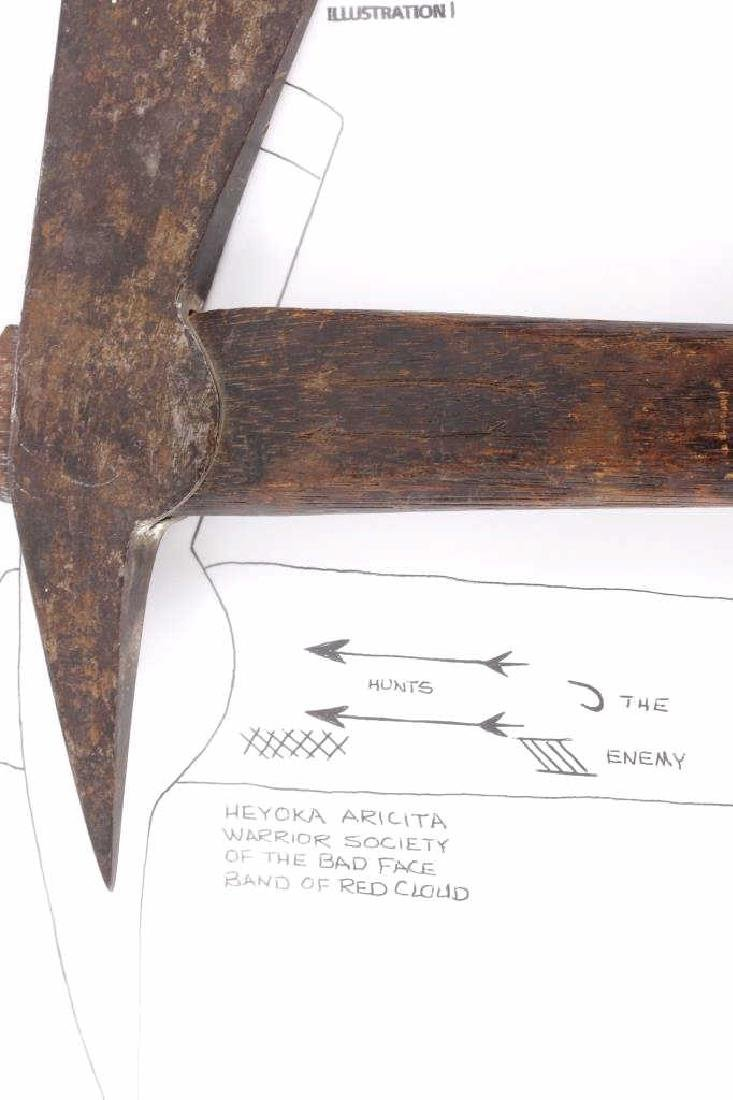 George Sword's Tomahawk from Little Bighorn 1870's - 2