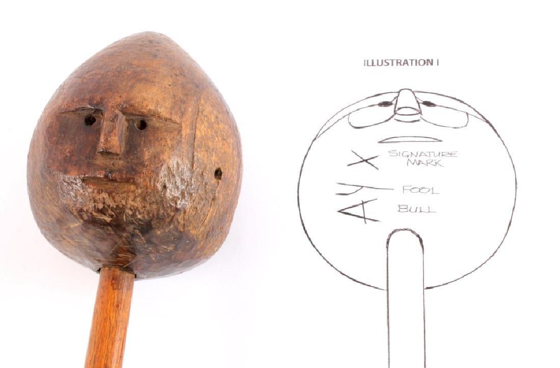 Lakota Sioux Shaman Medicine Man Stick Fool Bull - 7