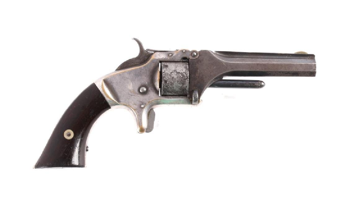 Smith & Wesson No 1 2nd Issue Chief Red Horn Bull - 2