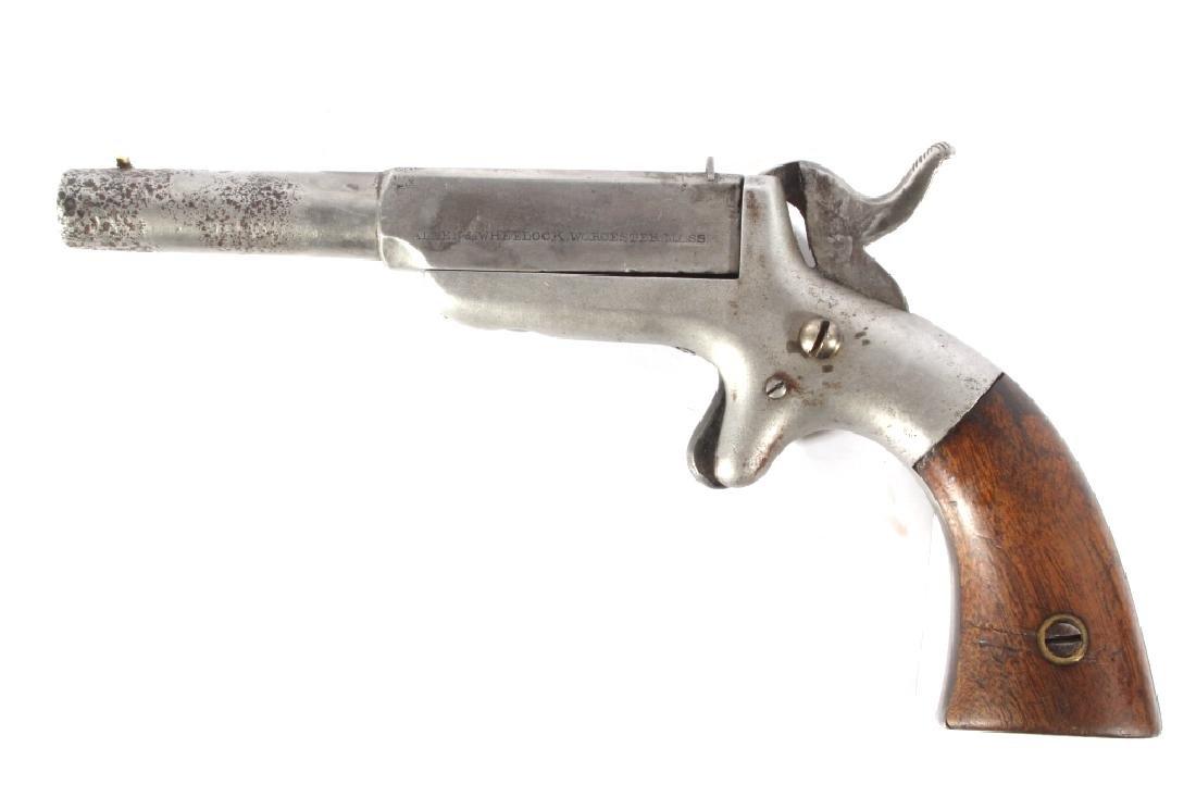Allen & Wheelock 32Cal Center Hammer Pocket Pistol - 2