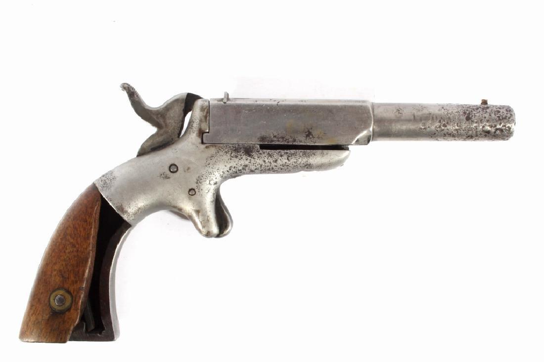 Allen & Wheelock 32Cal Center Hammer Pocket Pistol - 6