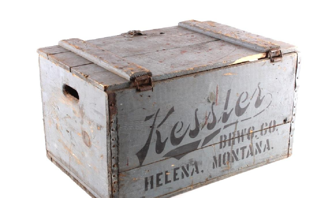Kessler Brewing Wooden Case from Helena Montana - 7