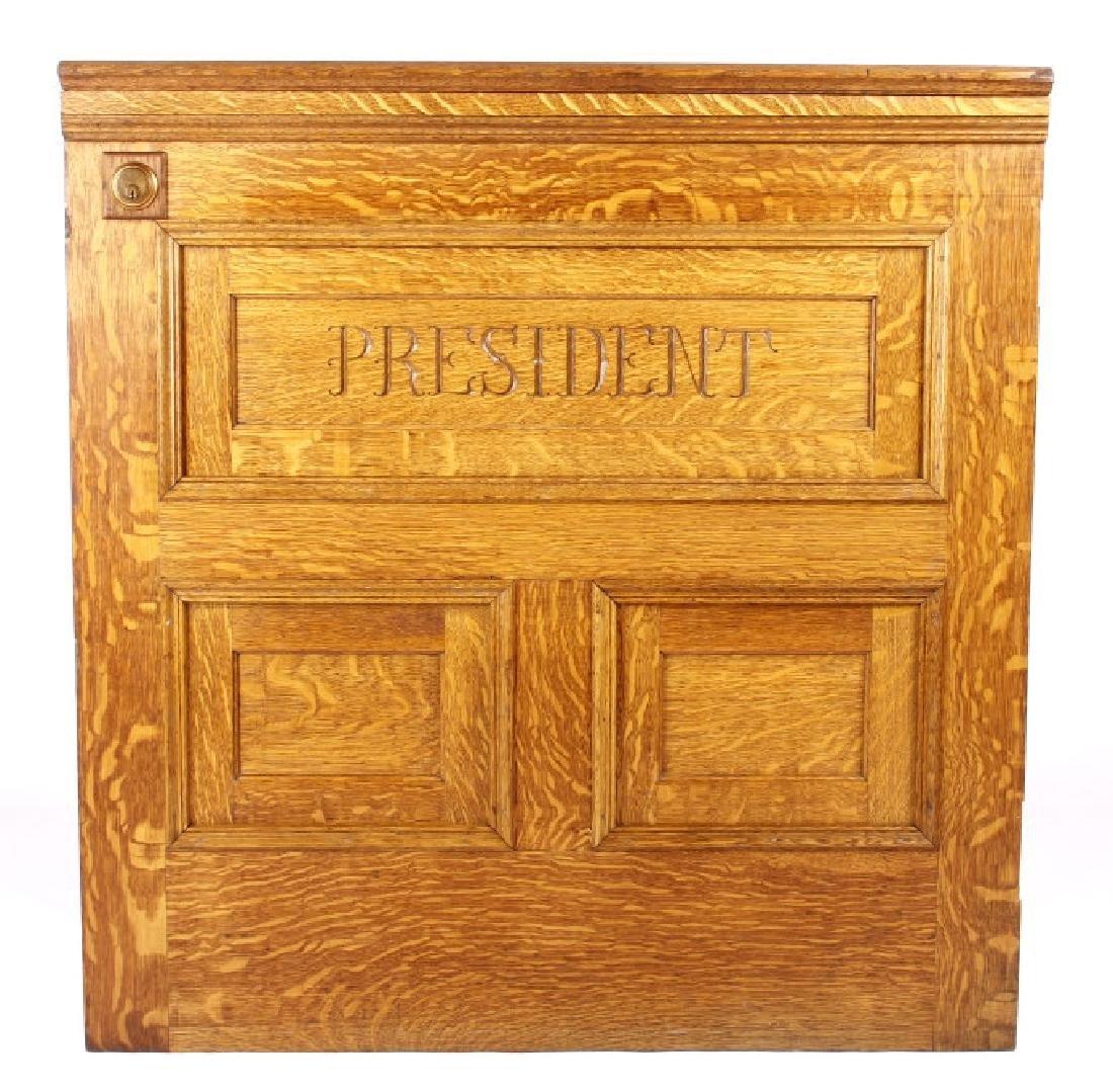 Miles City, Bank President Quartersawn Dutch Door