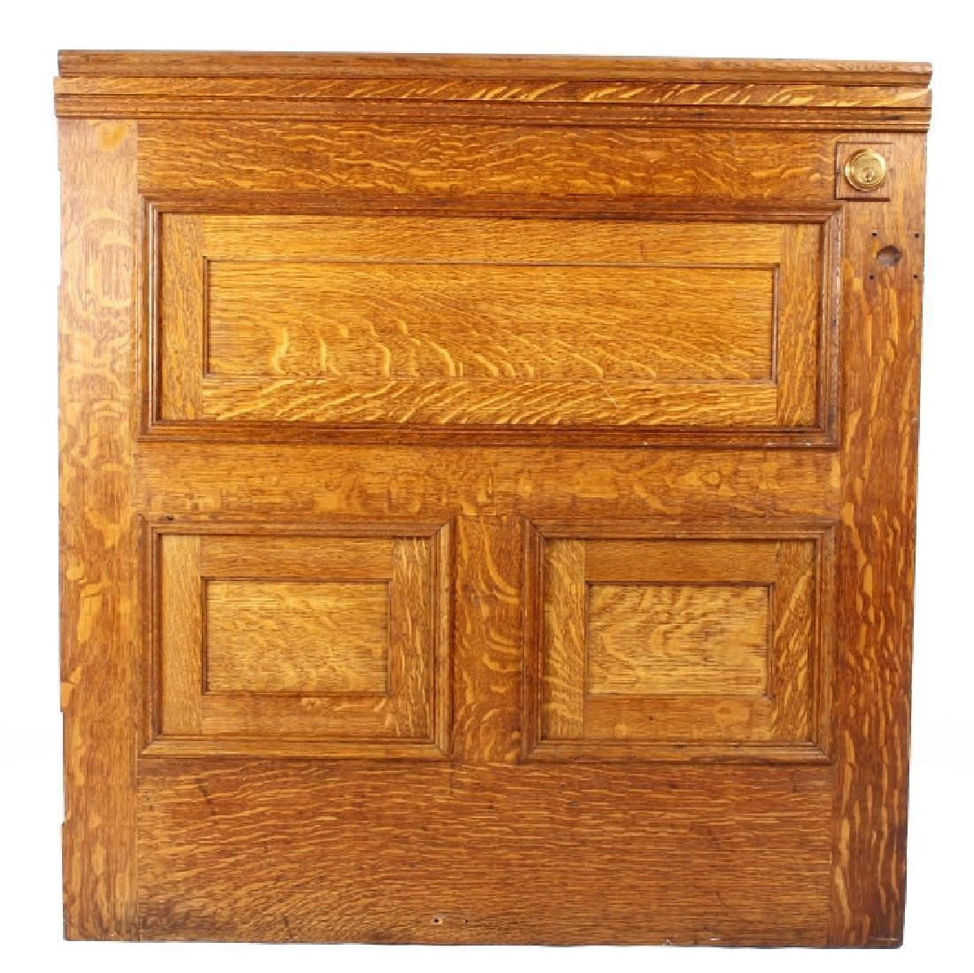 Miles City, Bank President Quartersawn Dutch Door - 2