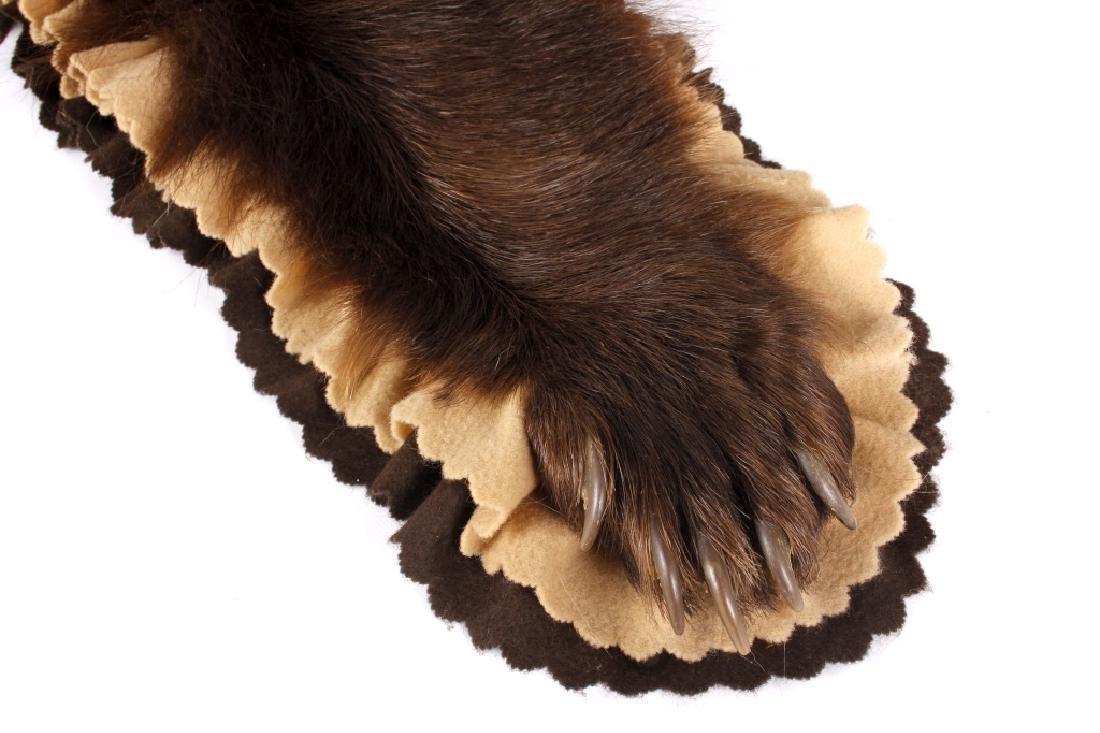 Montana Black Bear Taxidermy Rug Mount - 5