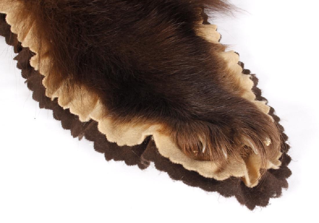Montana Black Bear Taxidermy Rug Mount - 6