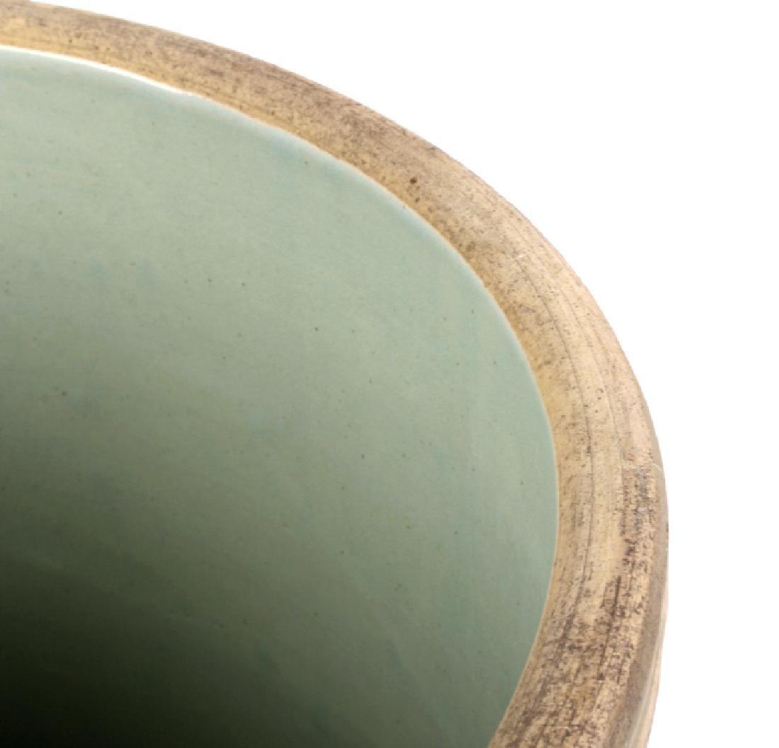 Redwing Stoneware Elk Stag Yelloware Crock - 7
