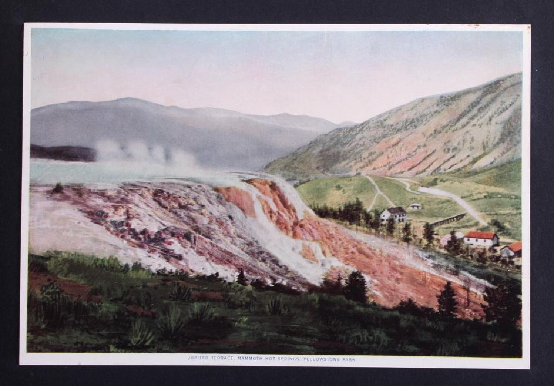 1913 The Wonders of Geyserland Yellowstone Album - 4