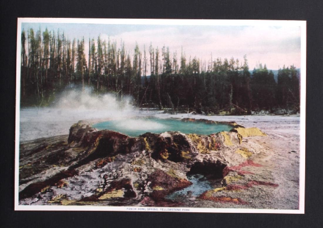 1913 The Wonders of Geyserland Yellowstone Album - 6