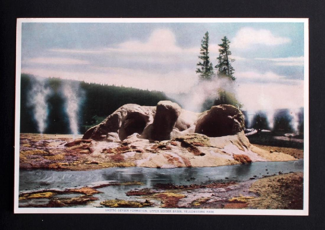 1913 The Wonders of Geyserland Yellowstone Album - 7