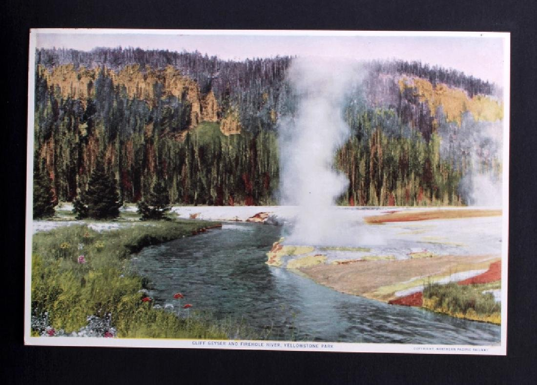 1913 The Wonders of Geyserland Yellowstone Album - 9