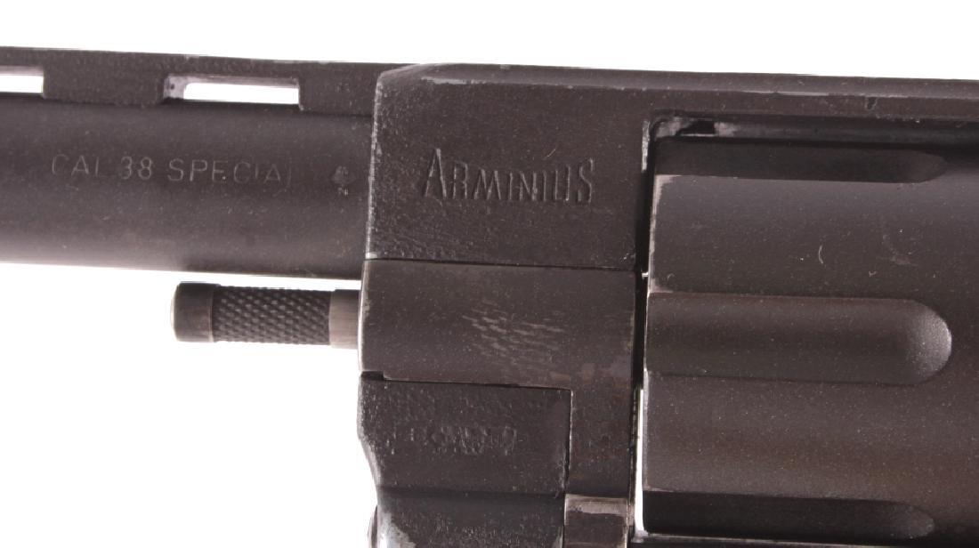 Arminius Double Action .38 Revolver w/ Holster - 4