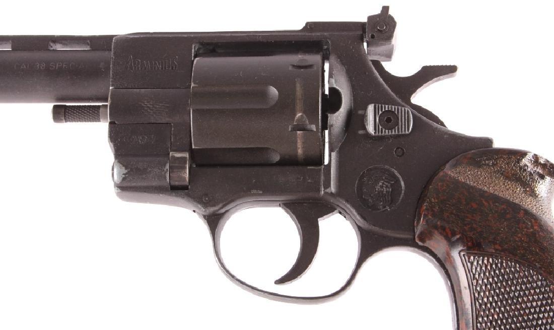 Arminius Double Action .38 Revolver w/ Holster - 6