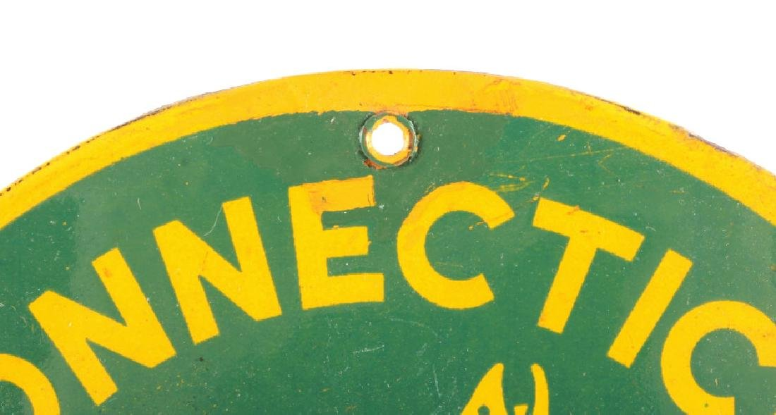 Connecticut Board of Fisheries Porcelain Sign - 5