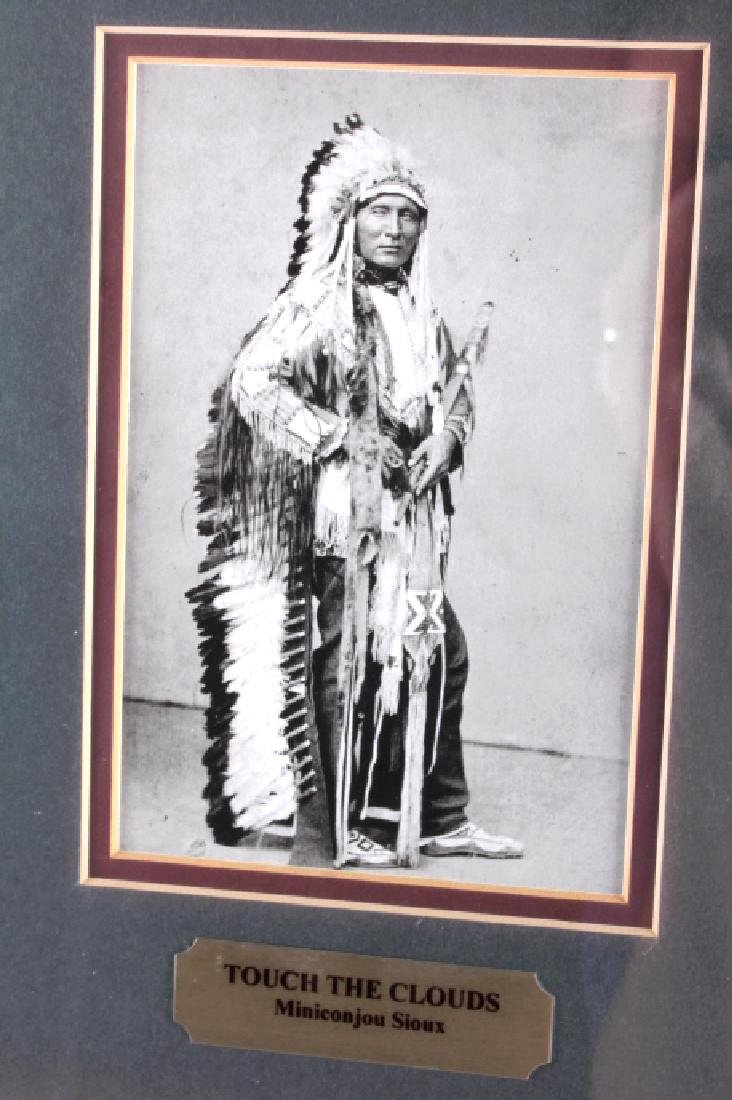 Chiefs of The Little Bighorn Framed Display - 8