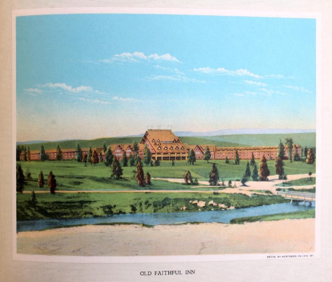 C.1910 Souvenir Album of Yellowstone Park - 10
