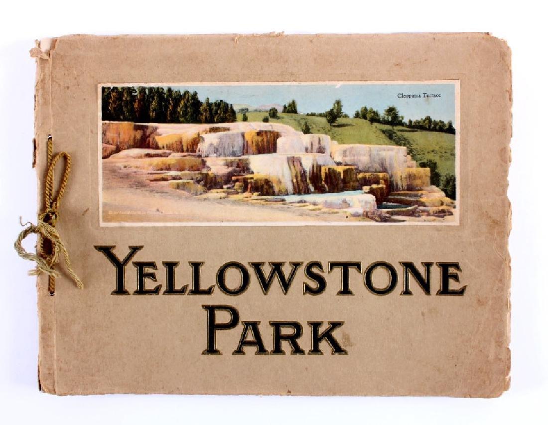 C.1910 Souvenir Album of Yellowstone Park