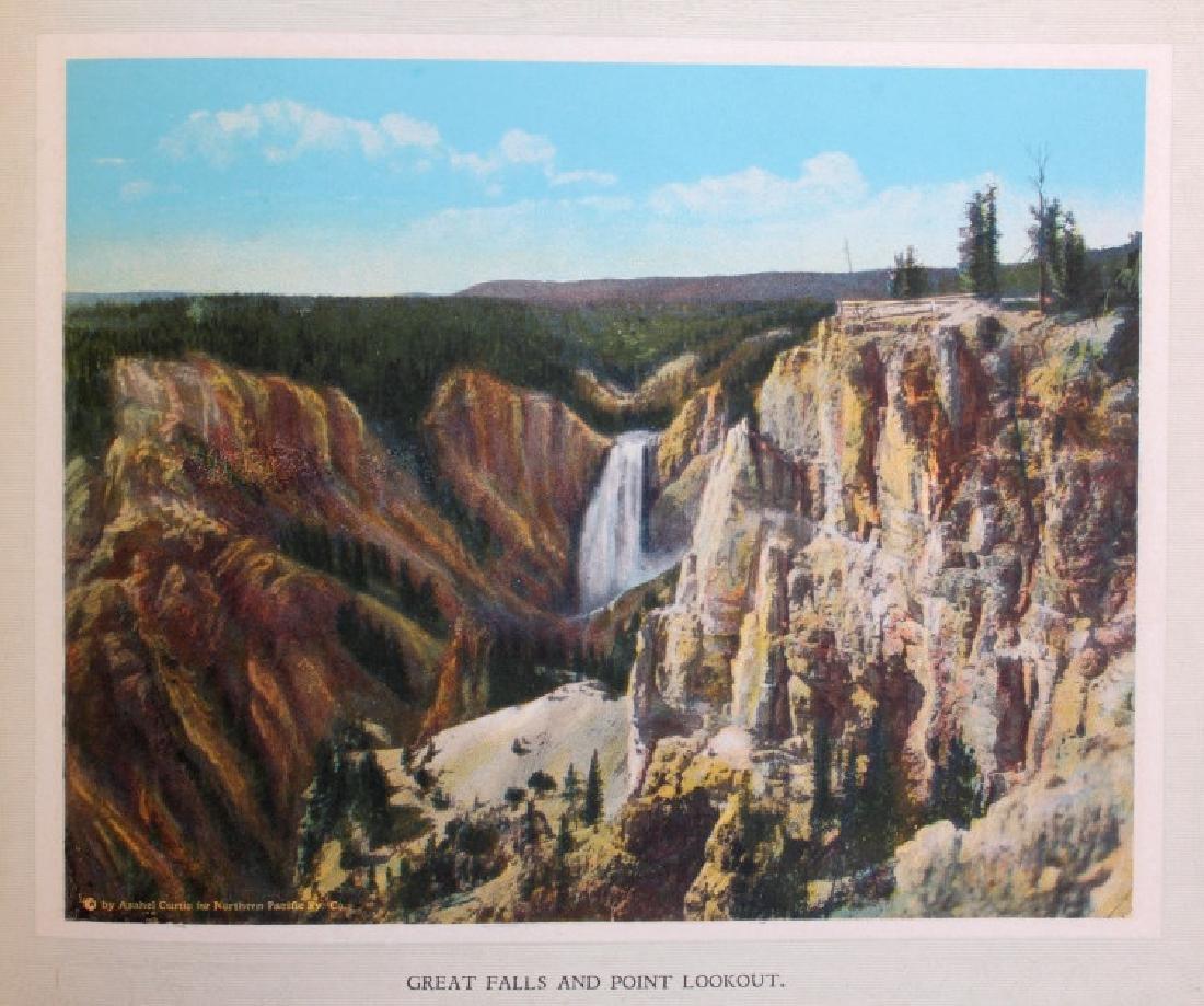 C.1910 Souvenir Album of Yellowstone Park - 7
