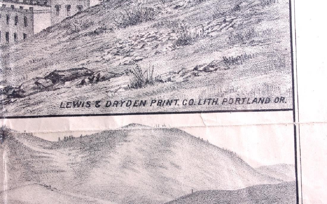 c.1890 Helena Montana Lithograph - 13