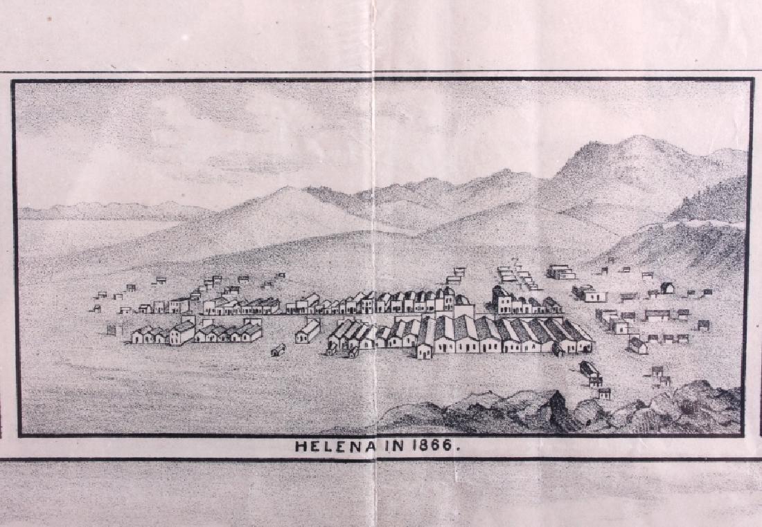 c.1890 Helena Montana Lithograph - 4