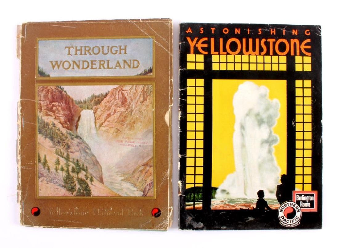 Early Yellowstone Park Railroad Guide Books