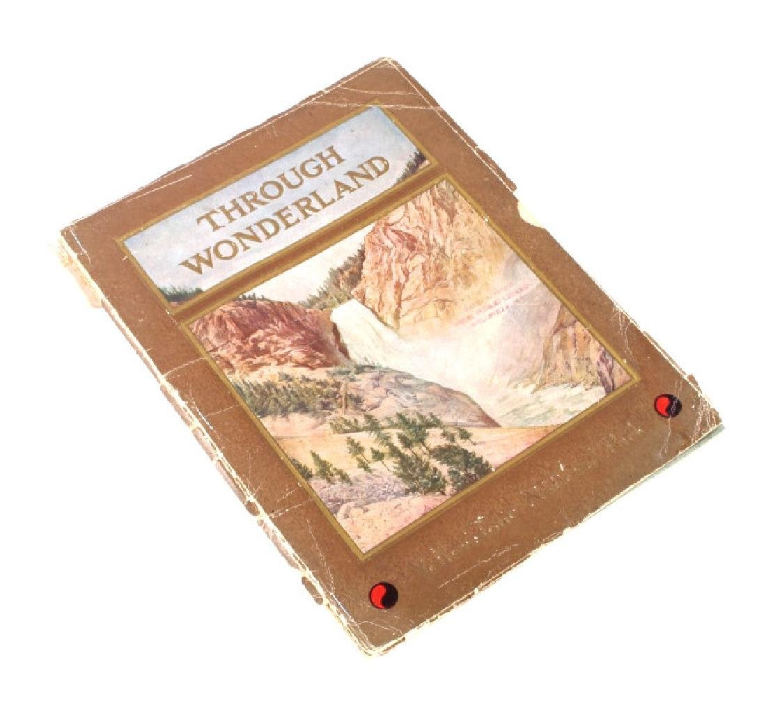 Early Yellowstone Park Railroad Guide Books - 2