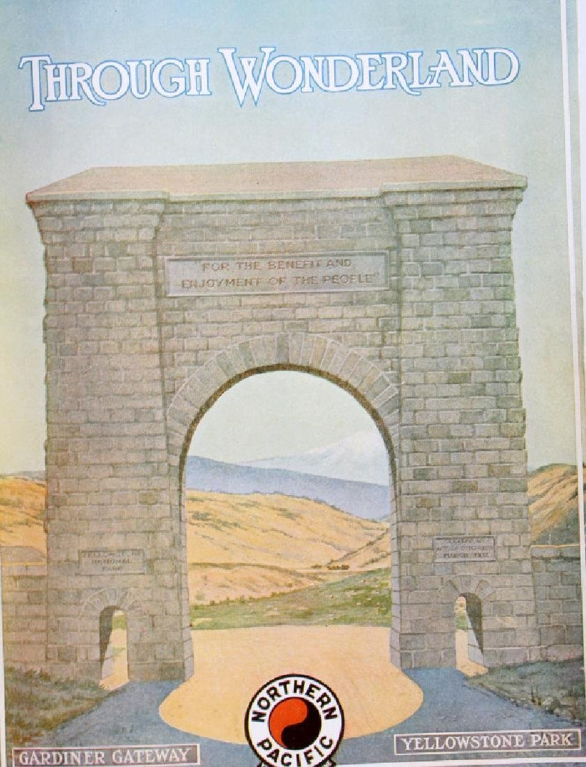 Early Yellowstone Park Railroad Guide Books - 3