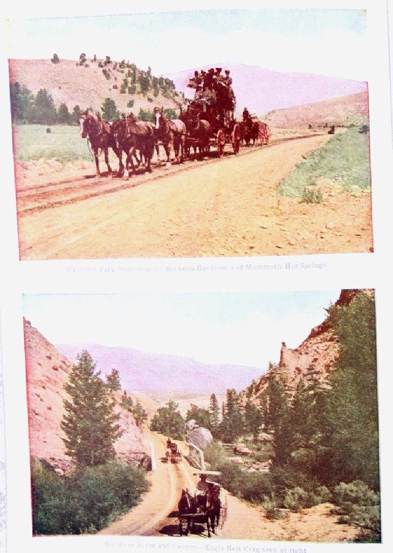 Early Yellowstone Park Railroad Guide Books - 5
