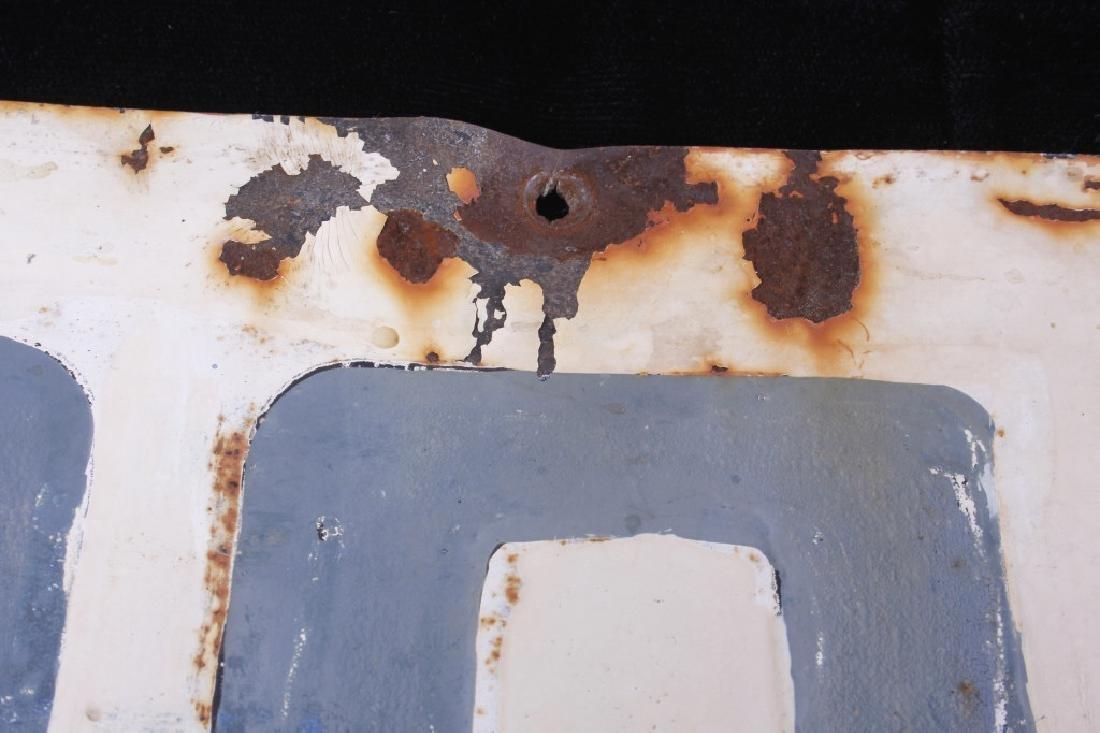 Hand Painted Coalridge Montana Post Office Sign - 6