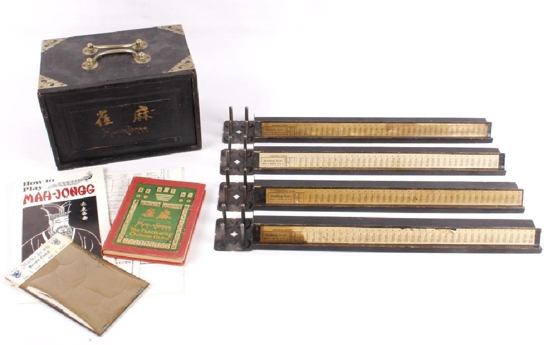 Wooden Mah-Jongg Set Circa 1920's