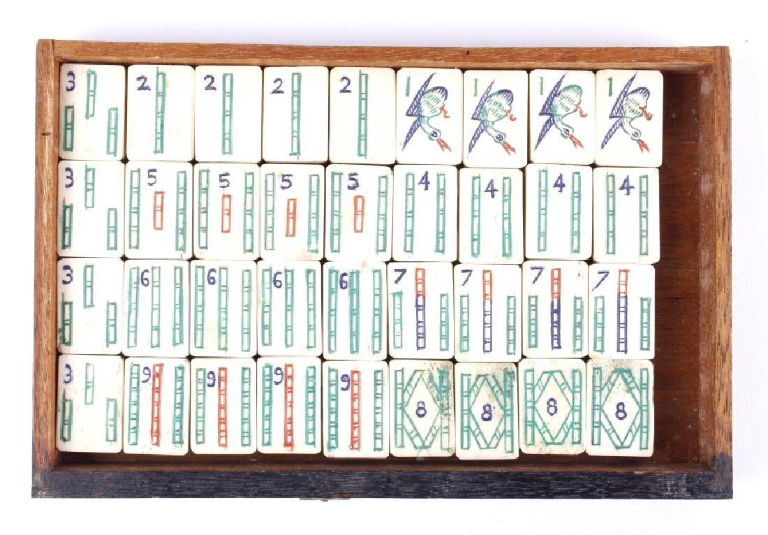 Wooden Mah-Jongg Set Circa 1920's - 6