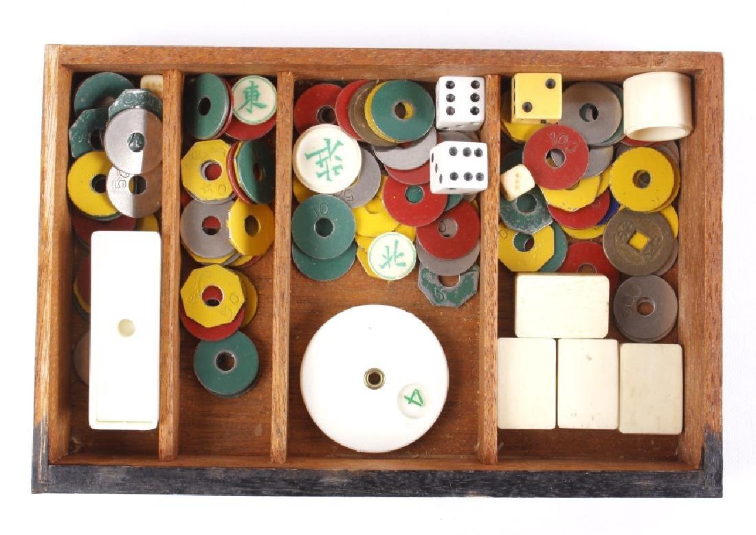 Wooden Mah-Jongg Set Circa 1920's - 9