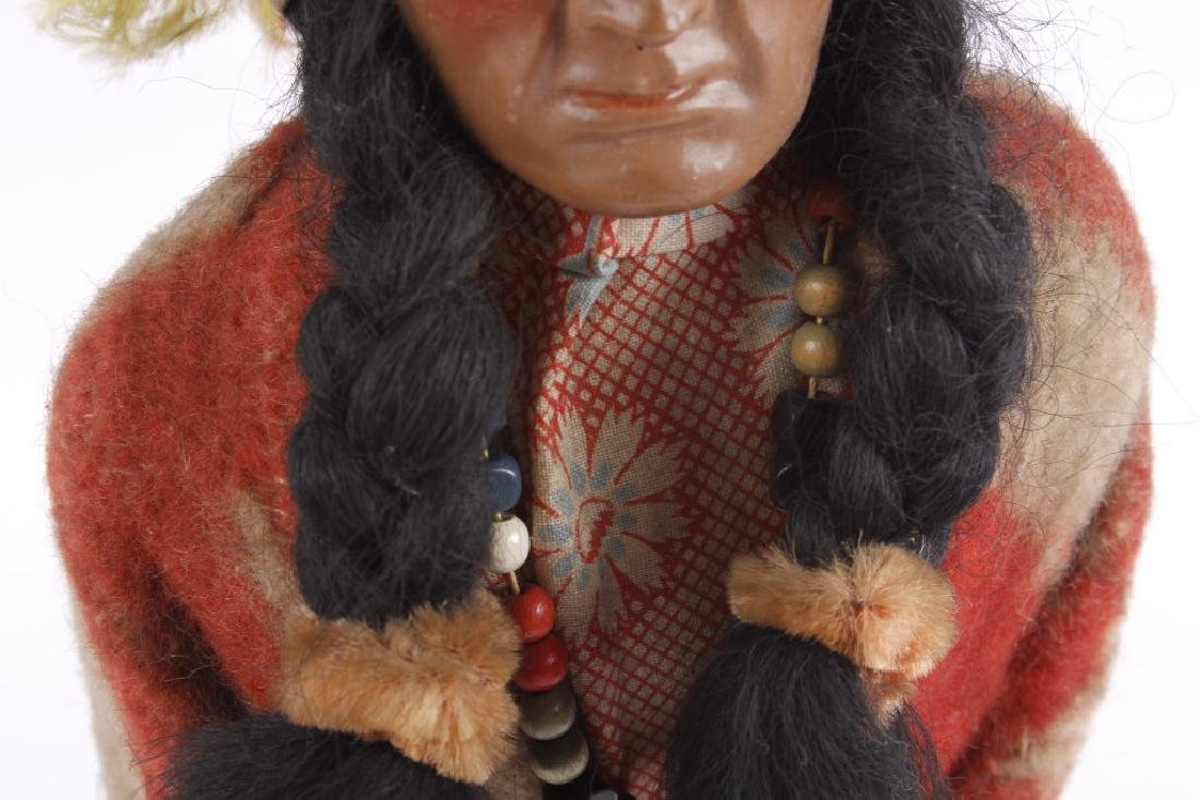 "Skookum ""Bully Good"" Indian Doll - 6"