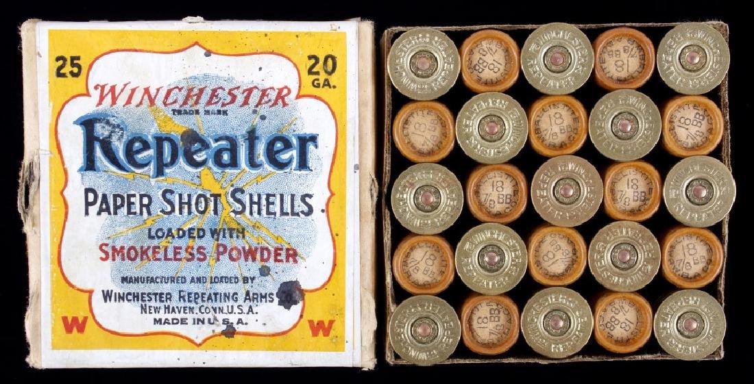 Winchester Repeater Paper Shot Shells RARE Unshot