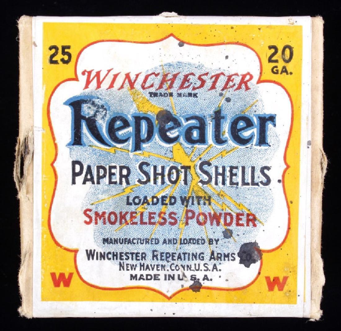 Winchester Repeater Paper Shot Shells RARE Unshot - 2