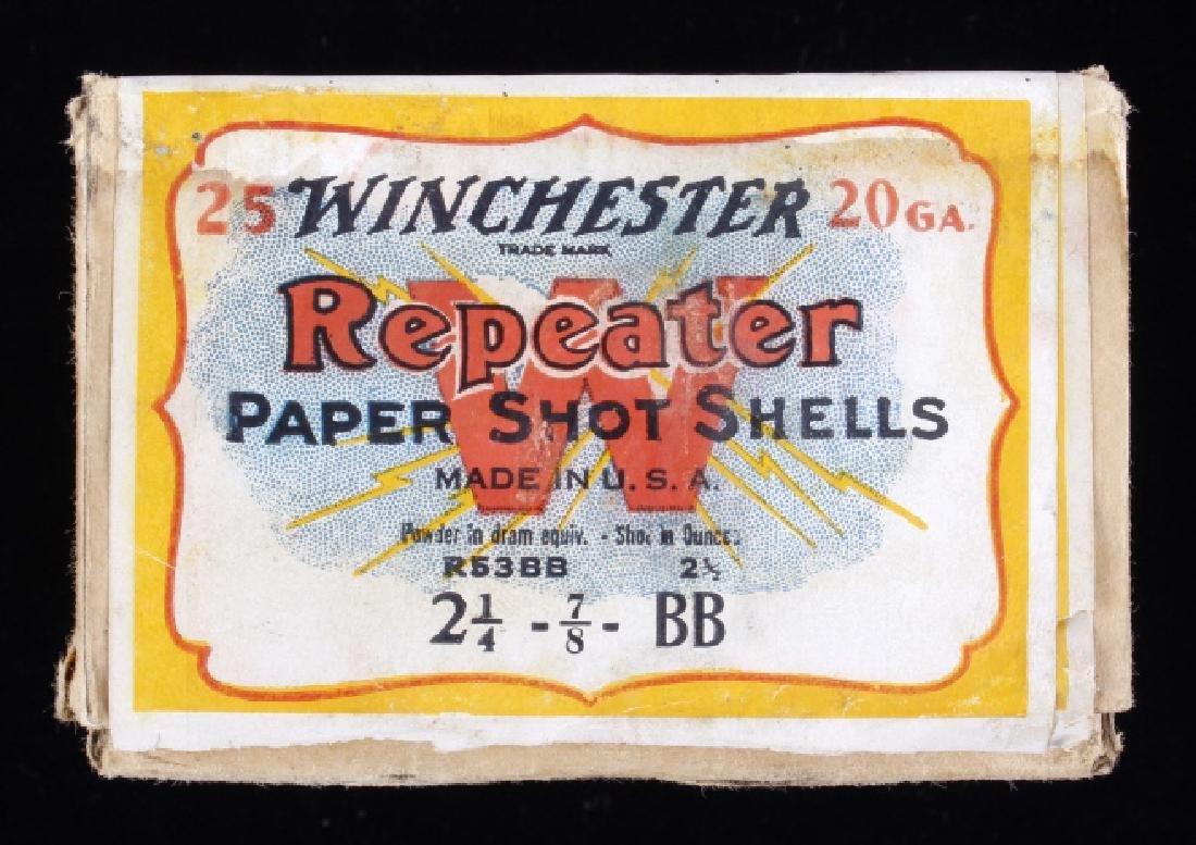 Winchester Repeater Paper Shot Shells RARE Unshot - 3