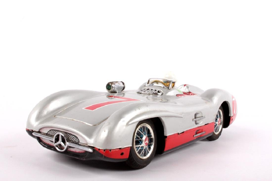 Marusan Toys, Mercedes W196 Battery Operated Toy - 2
